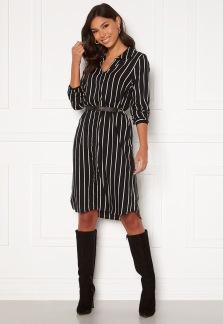 Juliette Shirt Dress - Svart 36/38