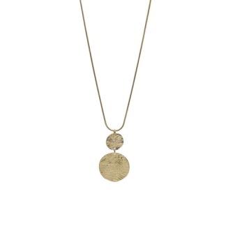 Långt halsband - Guld