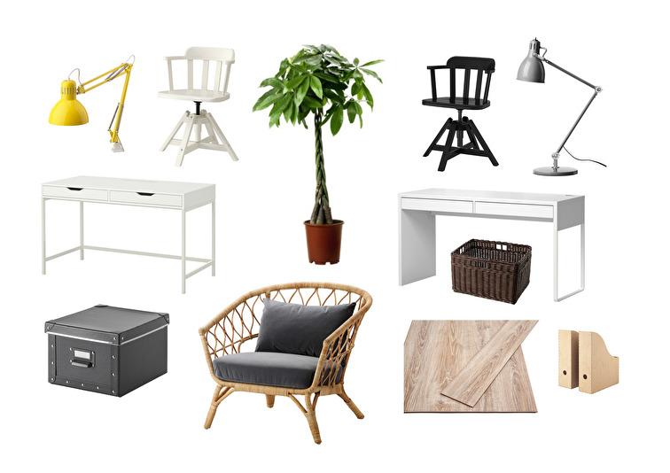 Bilder och produkter från IKEA