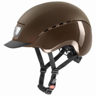 Uvex Elexxion pro brown mat-brown shiny