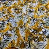 Trikåtyg - Tigrar