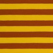 Ränder 1 cm gul, terracotta