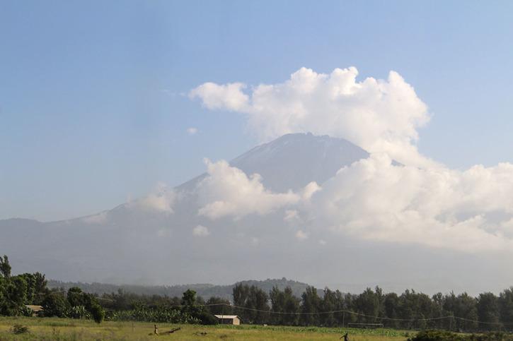 Mount Meru, 3.170 meter högt