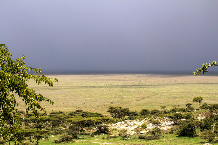 Utsikt från Nabi Hill