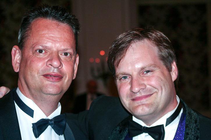 Peter Grännby och Chad Carpenter