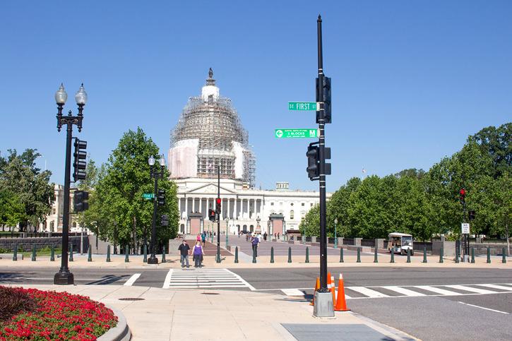 Capitolium från sidan