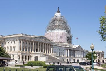 Capitolium snett från baksidan