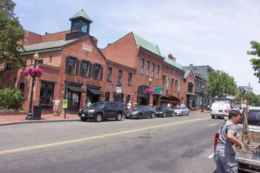 M-street i Georgetown