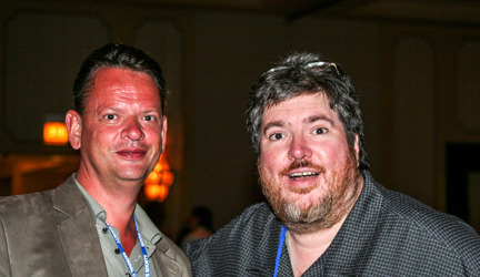 Peter Grännby och Chris Browne