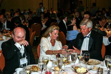 Ralph smith och Rocky Shepard med fru