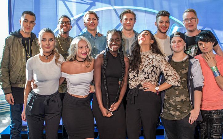 Finalisterna i Idol 2016