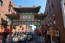 Chinatown låg i närheten
