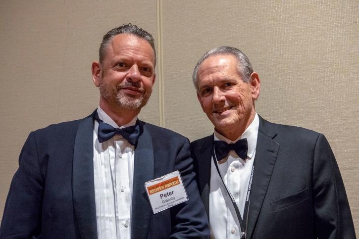 Peter Grännby och Keith McCloat från King