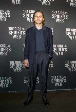 Sverrir Gudnason spelar Mikael Blomkvist i The Girl in the Spider' s Web.
