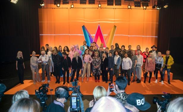 Deltagarna i Melodifestivalen 2019
