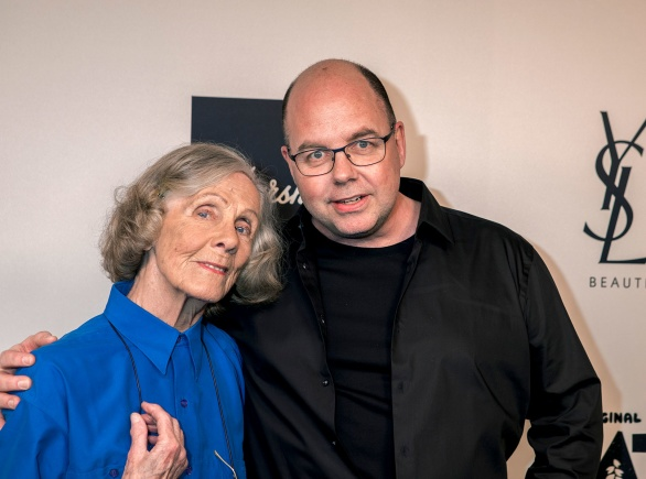 Gullan Bornemark och Dan Bornemark på Grammisgalan 2019