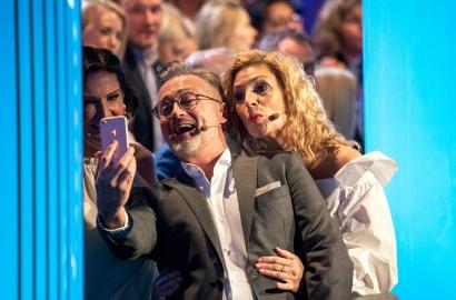 Juryn tar selfies
