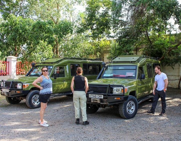 Jeeparna var från Anderson African Advenures
