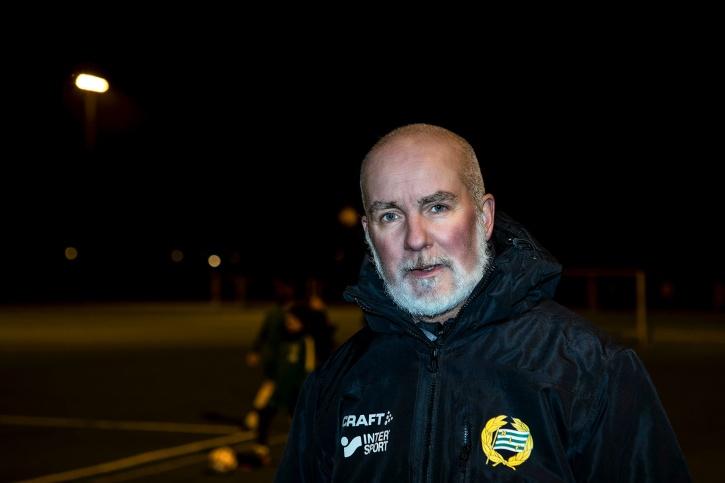 Hammarbys ungdomscoach Daniel Engström