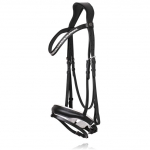 R-224 SD CROWN Meistro anatomic bridle black white2