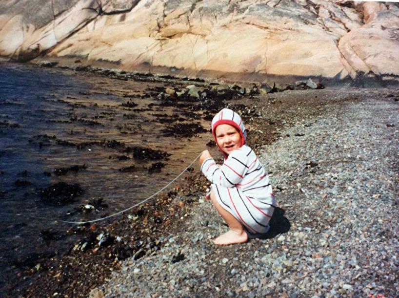 Chrille fiskar krabbor i Berga, Lyse hos mormor & Bert