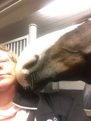 Farmer är alltid redo för en puss