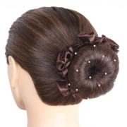 SD¸ PEARL HAIRNET IN BROWN