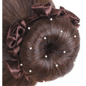 SD¸ PEARL HAIRNET IN BROWN - Hårnät Brun