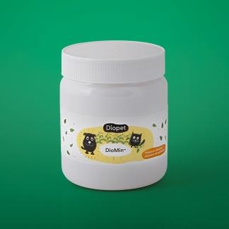 DioMin - värdefullt vitaminskott för en pigg hund - Diomin