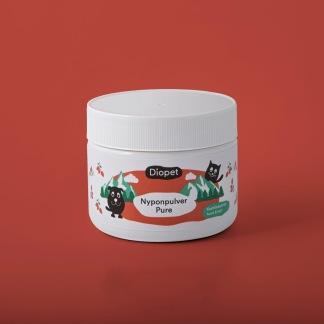 Nyponpulver Pure-viltväxande nypon proppade med antioxidanter - Nyponpulver