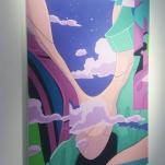 """Background2.jpg"" 98cm x 65cm, Acrylics on MDF"