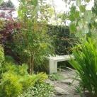 bild trädgårdsanläggning efter