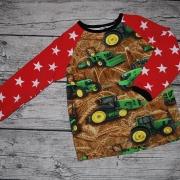 Traktorer med röda stjärnärmar 110