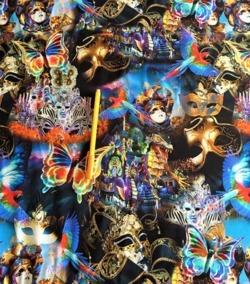 Mössa Venedig mask 44/46