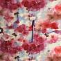 Perfect Skirt XL välj mellan 23 olika tyger - Körsbärsblom