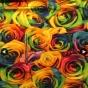 Perfect Skirt XL välj mellan 23 olika tyger - Multifärg rosor