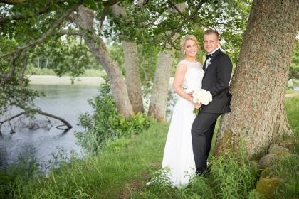Fotografera dina bröllopsfoton vid oxhultasjön i Hisult av fotograf Emy