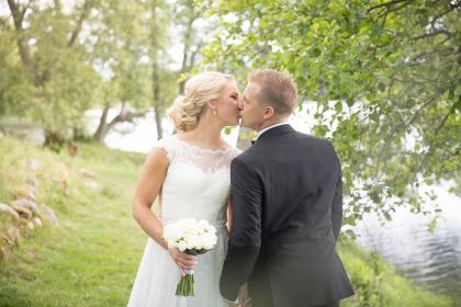 Bröllop vid oxhultasjön, Fotograf  hisult och oxhultasjön