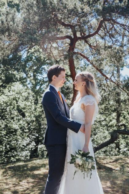 Bröllopsfotograf ifrån halmstad som fotograferar vackra bilder på ditt bröllop i halmstad
