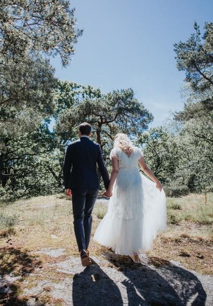 Vackra bröllopsbilder ifrån ditt bröllop i halmstad - fotograf Emy