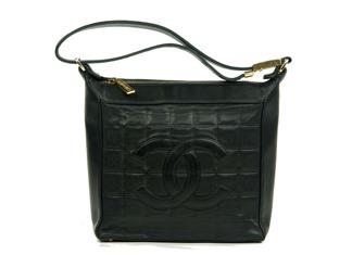 Chanel Shoulder Bag Chocolate Bar - Chanel  Shoulder Bag Chocolate Bar