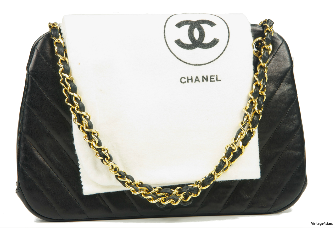 CHANEL Chevron  Kisslock 01a
