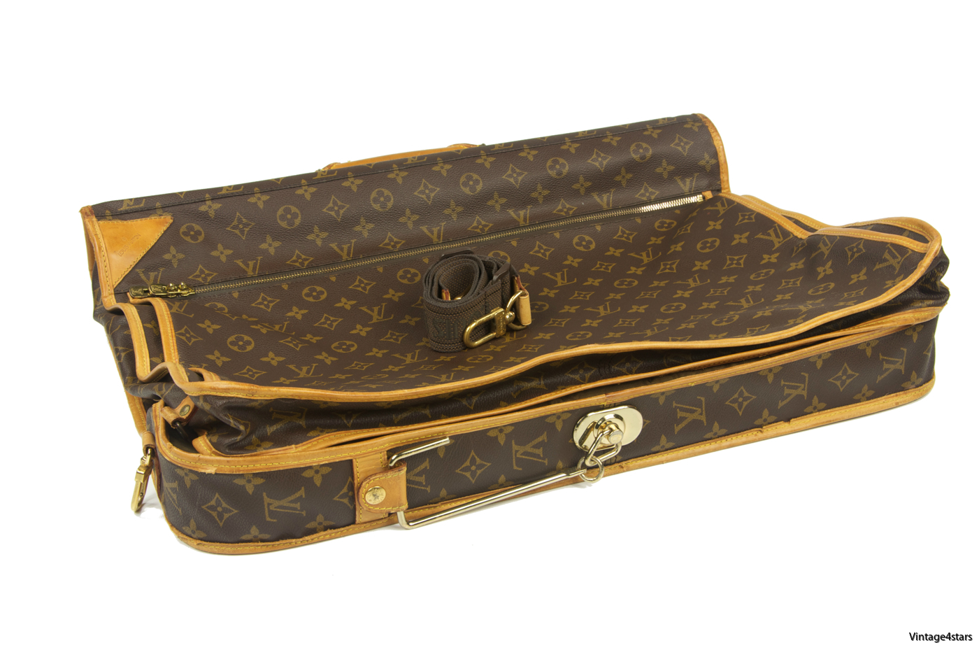 Louis Vuitton Garment Bag 3 Hangers Monogram 02