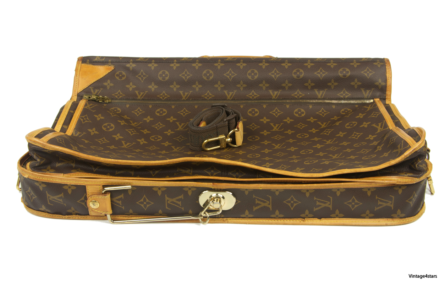 Louis Vuitton Garment Bag 3 Hangers Monogram 03