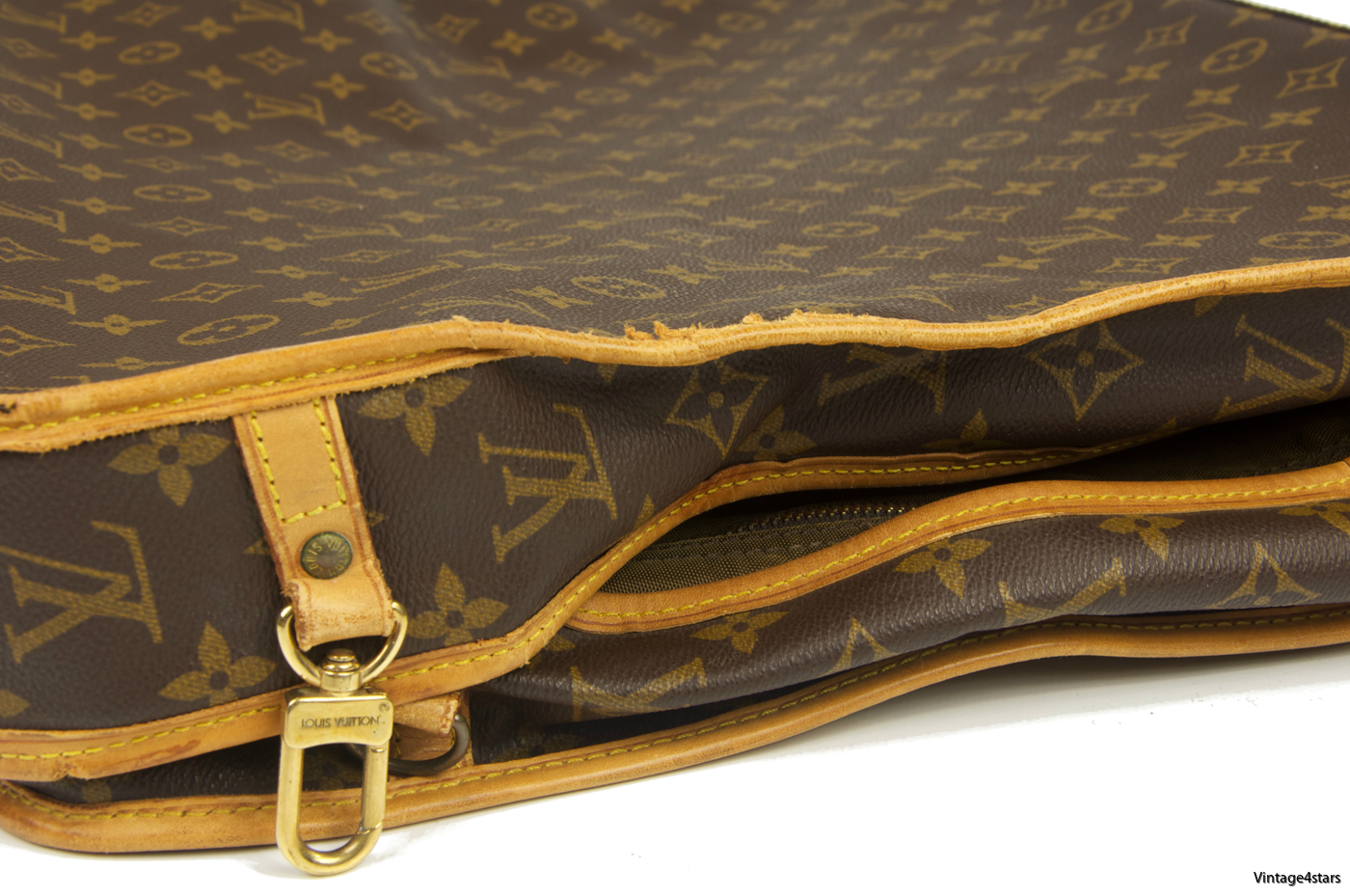 Louis Vuitton Garment Bag 3 Hangers Monogram 09