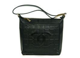 CHANEL Shoulder Bag Chocolate Bar