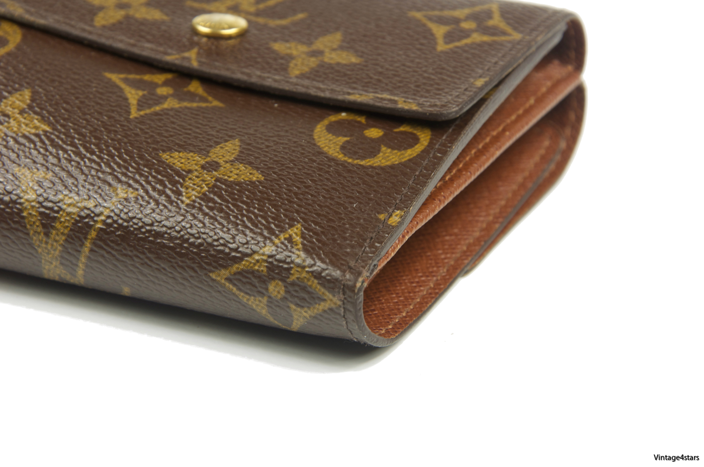 Louis Vuitton Portefeiulle Elise Trifold 203
