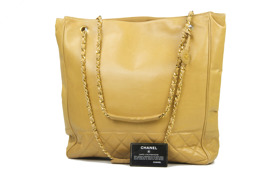 CHANEL Shopping Lambskin CC