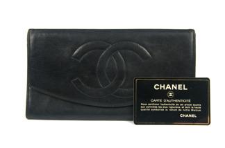 CHANEL Wallet Purse Lambskin - CHANEL Wallet Purse Lambskin