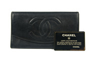 CHANEL Wallet Purse Lambskin